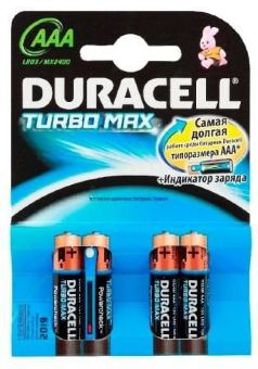 DURACELL LR 03-  4BL TURBO new 15798