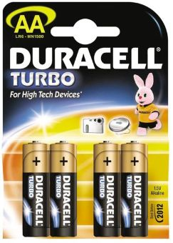 DURACELL LR 06 АА 4BL TURBO new 15697